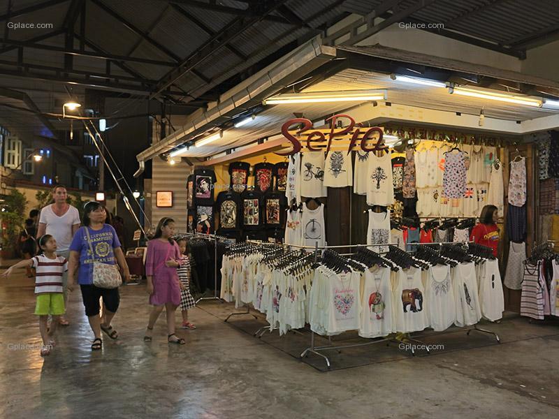 ตลาดโต้รุ่งหัวหิน ช็อปปิ้ง ถนนคนเดิน เมืองหัวหิน