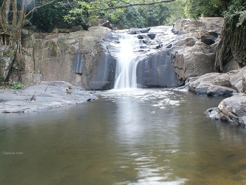 น้ำตกป่าละอู หัวหิน ชมธรรมชาติ และช้างป่า