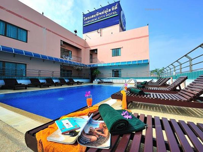 โรงแรมทิพย์อุไร ซิตี้ Thipurai City Hotel