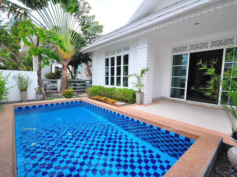 บ้านพักหัวหินมีสระว่ายน้ำส่วนตัว